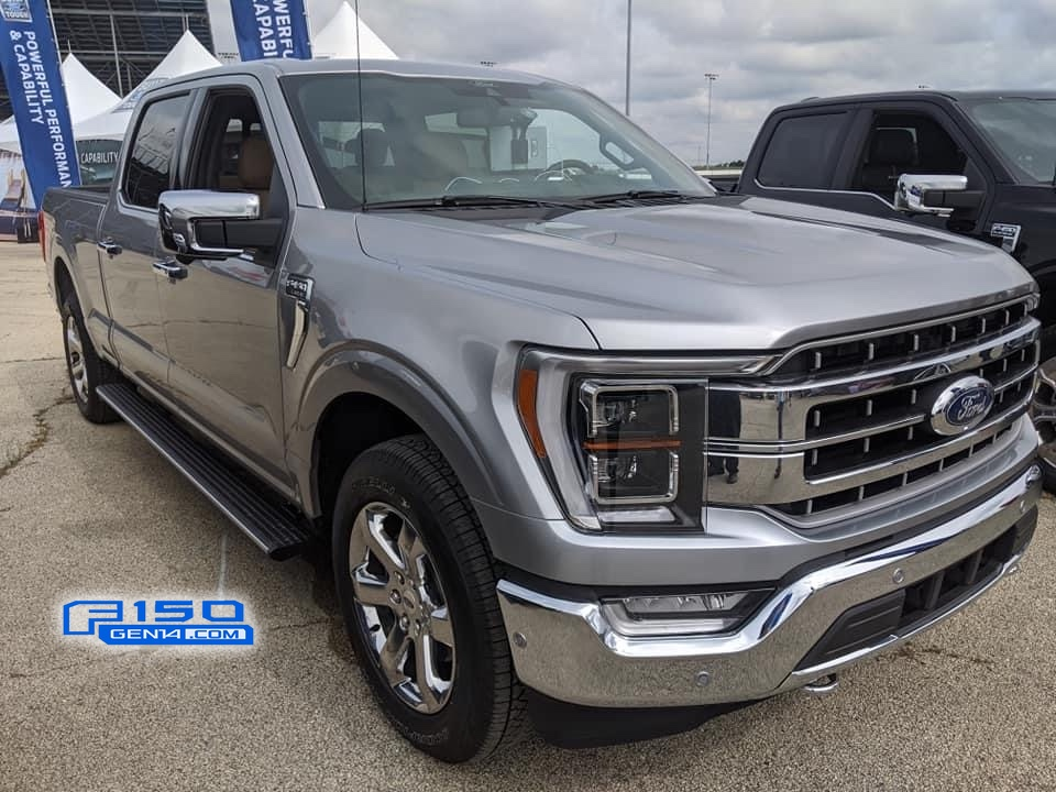 Iconic Silver 2021 F-150 Lariat Chrome Grille.jpg