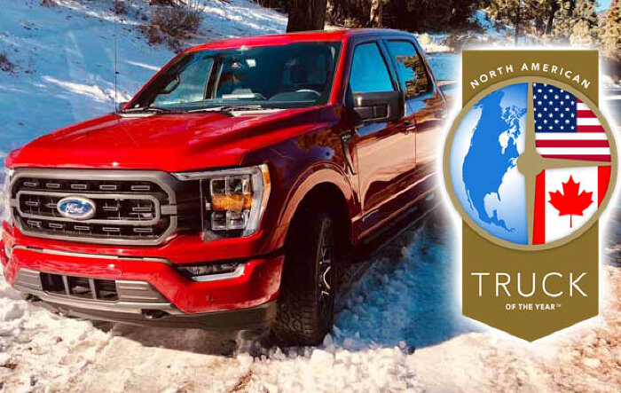 2021 F-150 Earns North American Truck of the Year Award