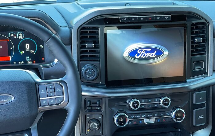 Full video tutorial of SYNC 4 system in the 2021 F-150