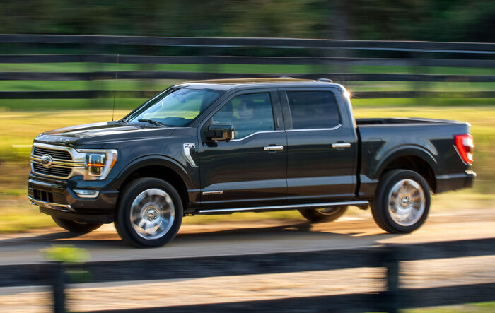 Hybrid PowerBoost F-150 performance numbers as tested by Motortrend