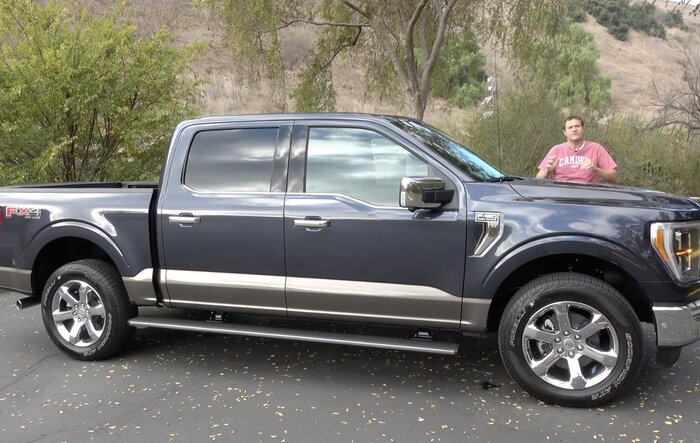 Doug Demuro Review: The 2021 Ford F-150 Is Totally New and Really Impressive
