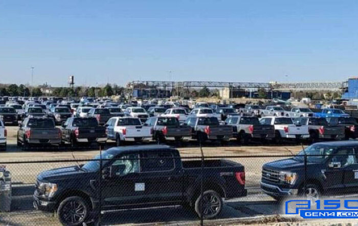 2021 F-150 stolen from Dearborn storage lot