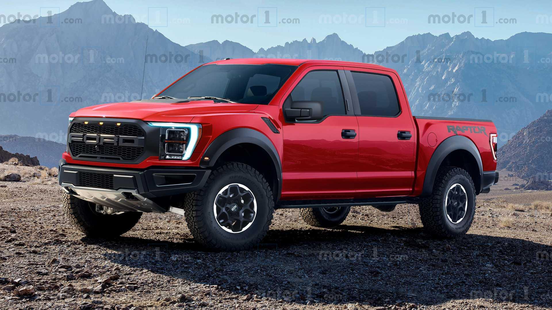 Diesel Ford Ranger >> 2022 F150 Raptor Imagined More in Renderings | 2021+ Ford ...