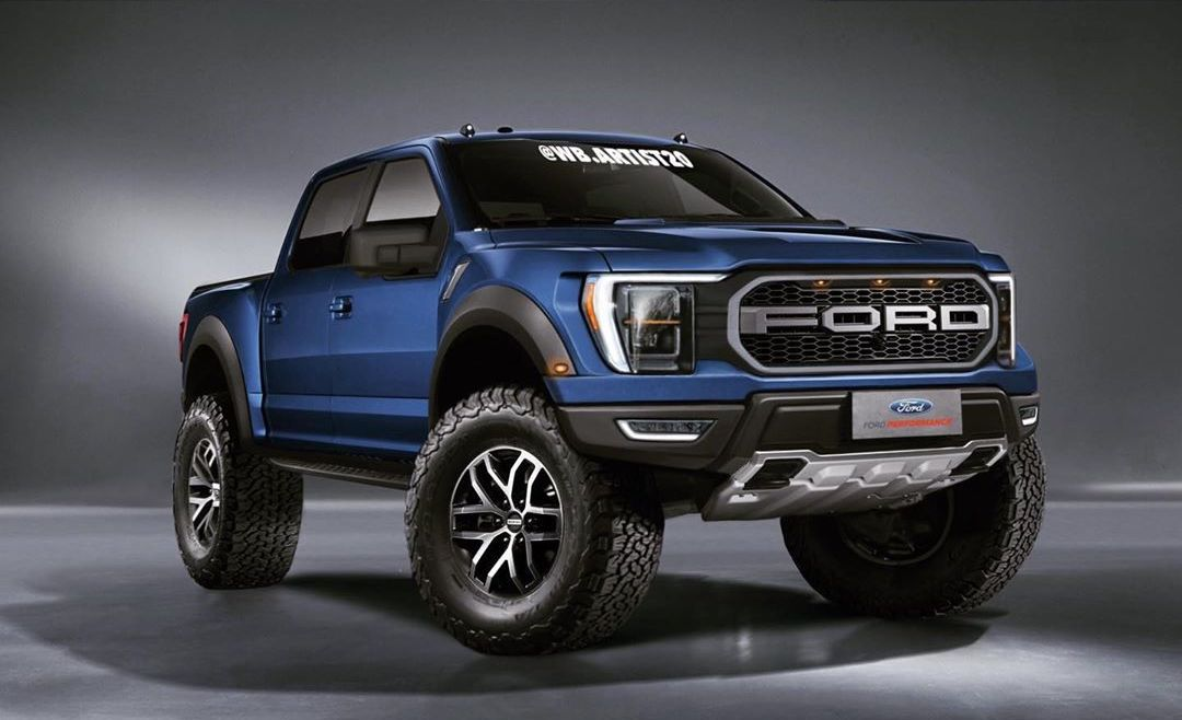 Ford Raptor V8 >> 2021 F-150 Raptor and XLT (Renderings) | 2021+ Ford F-150 ...