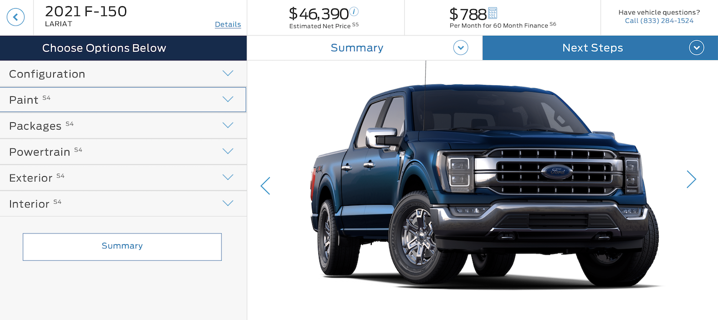 The 2021 F 150 Build Price Configurator Early Preview Is Now Live Page 2 F150gen14 Com 2021 Ford F 150 And Raptor Forum 14th Gen